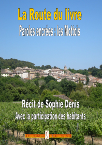 La route du livre, Paroles encrées, Les Mottois - Sophie Denis