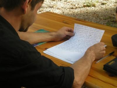 """Atelier d'écriture pour """"La Route du Livre"""""""