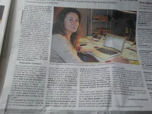 La maison d'édition et son éditrice – Ouest France